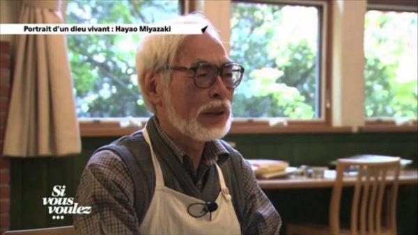 Hayao Miyazaki, Portrait d'une Légende vivante